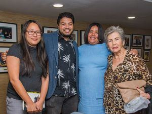 Ching Ling Ho, Frank Báez, Giselle Moreno y Lisette Purcell.