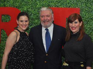 Patricia Cooper, José Miguel Bonetti y Maureen Cocco.