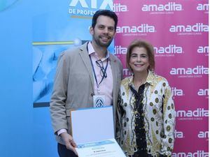 Gabriel Grau y Patricia Gonzalez de Berges.