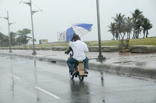 Un sistema frontal continuará dejando lluvias en el país