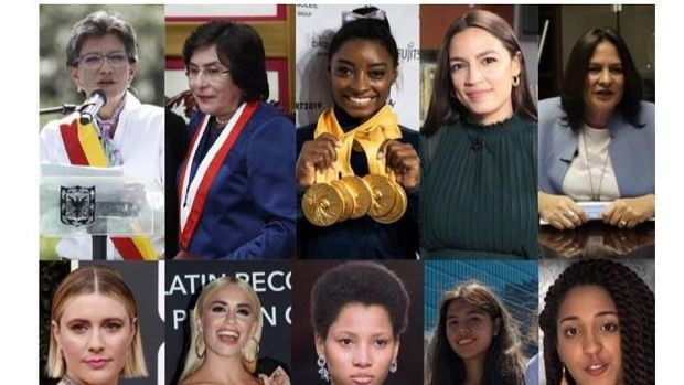 Diez mujeres aspiran a protagonizar el nuevo año en América