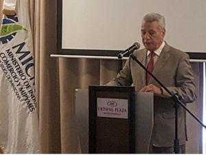 Nelson Toca Simó, ministro de Industria, Comercio y Mipymes.