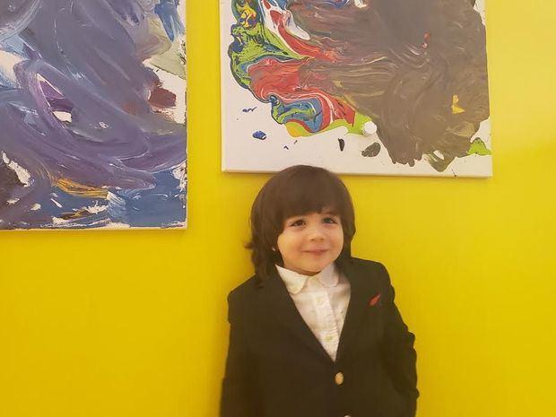 Exposición Inocencia Pictórica: el mundo interpretado por un niño de 3 años