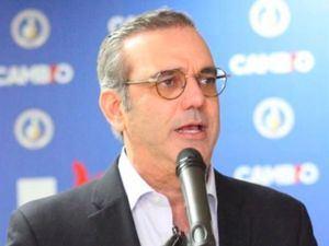 Candidato presidencial del PRM, Luis Abinader Corona.