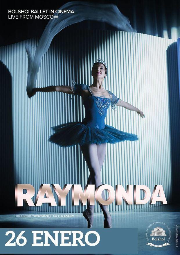 BOLSHOI BALLET: La obra maestra final de Marius Petipa, Raymonda, transmitida desde Moscú.