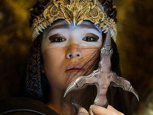 La actriz Xian - Lang, interpreta a Mulánen la nueva versión de la película de Walt Disney.