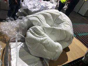 Aduanas informó del hallazgo de dos paquetes de marihuana