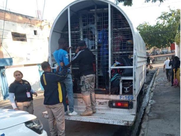 Detienen más de 2 mil nacionales haitianos durante última quincena de enero.