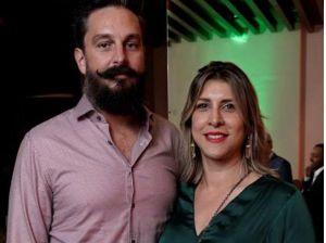 Carlos García y Sra. Aida Jiménez.
