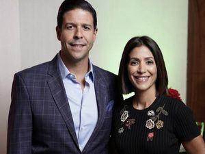 Julio López y María Fernanda Arredondo.