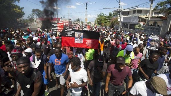 Protesta contra la corrupción en Haití deja al menos dos muertos y varios heridos