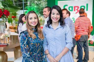 Miriam López y Elybel Pimentel.