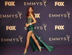 Zendaya en los premios Emmy.