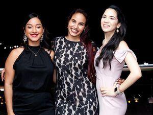 Sally Núñez, Katherine Guerrero y Damiely Santana.