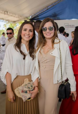 Daniela Dupont y Johanna Gómez.