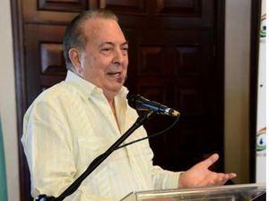 Ministro de Cultura habla durante el anuncio de las novedades del Desfile Nacional del Carnaval Dominicano 2020.