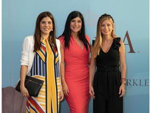 Carmen Español, Lorelle Bacha y Paula Uva.
