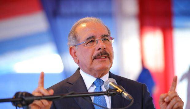 El presidente de la Rep{ublica, Lic.  Danilo Medina.