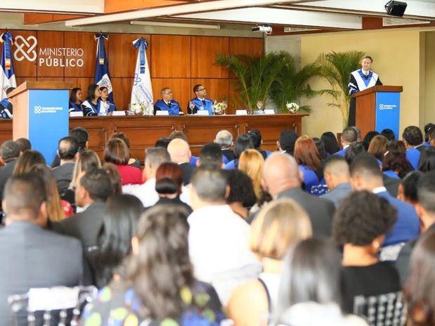 El magistrado Jean Rodríguez destacó los esfuerzos que realizan para dotar al Ministerio Público de las herramientas necesarias que les permitan una gestión eficaz.