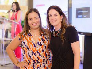 Johanna Polanco y Mariloly Lovaton.