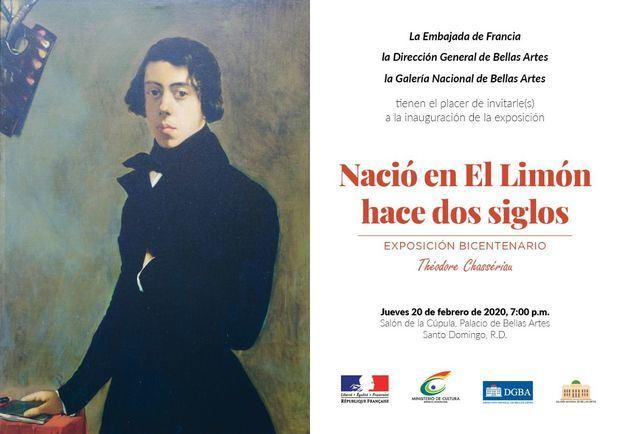 """Exposición """"Nació en el Limón hace dos siglos"""" obras de Theodore Chasseriau , 20 feb 2020"""