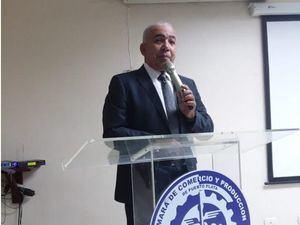 Sixto Peralta, presidente de la Cámara de Comercio de Puerto Plata.