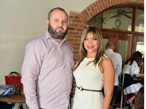 Juan Peña e Ingrid de la Rosa.