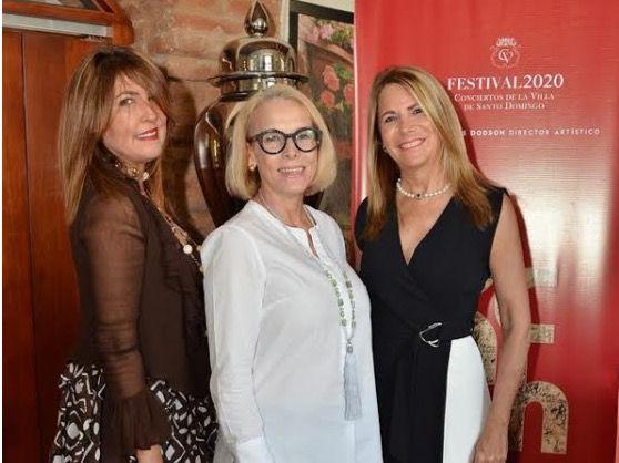 Claudia Díaz, Liz Goyco y Margarita Borrás.