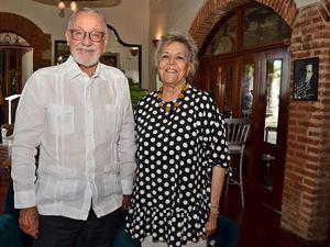 Renzo Seravalle y Delgis Nardi de Rivera Caminero.