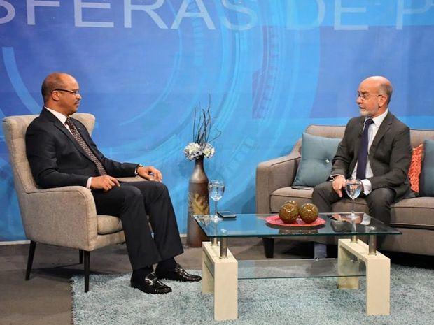 Daniel Pou, politólogo y experto en asuntos de seguridad en la Entrevista hecha por el periodista Federico Méndez, en el programa Esferas de Poder.