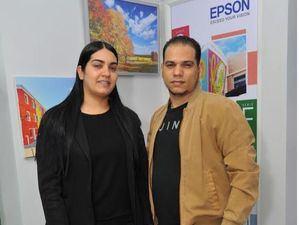 Veronica Sánchez y Milton Guerra.