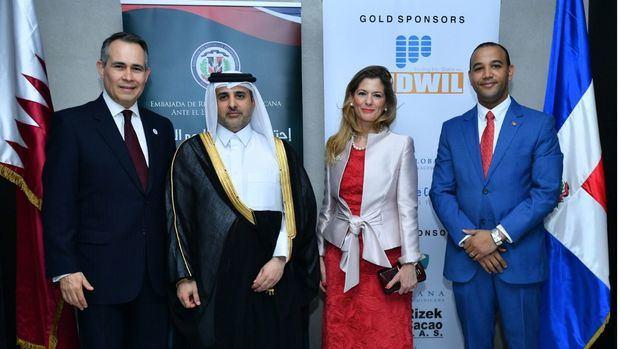 Embajada Dominicana en Qatar conmemora independencia Nacional