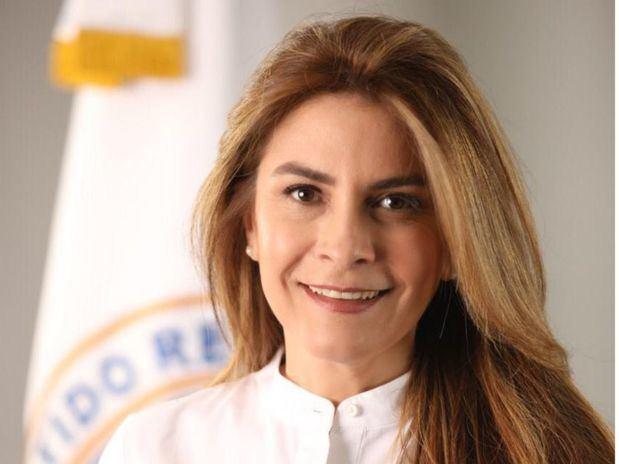 Candidata a la Alcaldía del Distrito Nacional por el Partido Revolucionario Moderno, PRM, Carolina Mejía.
