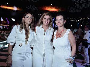 Sara Tío, Paloma Szathmary y Maya Hitz.