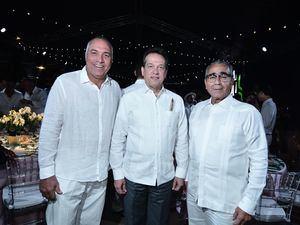 Carlos Pichardo, Ito Bisonó y Víctor García Sued.