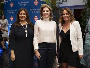 Belgica Suarez, Mercedes Carmen Capellán, Brenda Sánchez.