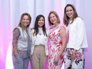 Catalina Gutiérrez, Catherine Piña, Mari Fernández y Carla Pietro.