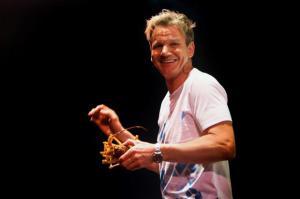 Gordon Ramsay: 'Cocinar es como un deporte y no todos llegan a lo más alto'