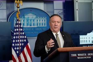En la imagen el secretario de Estado de EE.UU., Mike Pompeo.