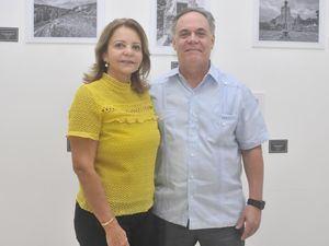 María Libia de Oller y Osvaldo Oller.