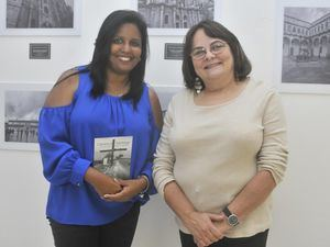 Silvani Hernández y Rebeca del Castillo.