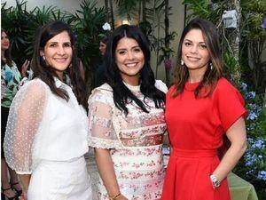 Patricia Losala, Rebeca García y Giselle Fernández.