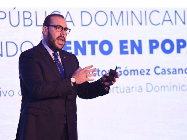 Víctor Gómez Casanova destaca avances del sistema marítimo portuario
