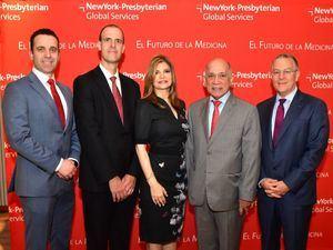 Andrea Dacquino, Jason Wright, Luis Canela y Douglas S. Scherk.