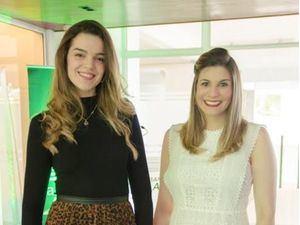 Adelia Fernández y Claudia Cueli.
