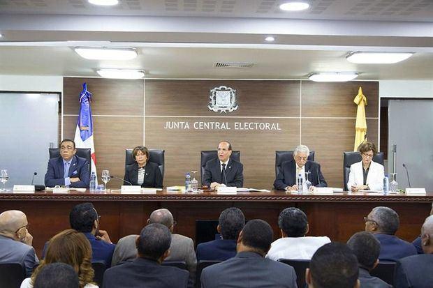 JCE dicta Proclama de elecciones ordinarias presidenciales y congresuales