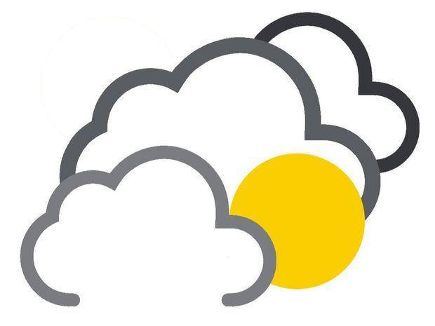 Nublados ocasionales con chubascos locales en puntos aislados del país