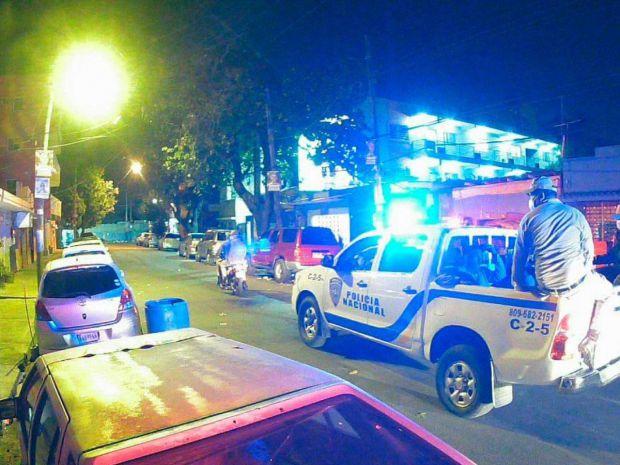Patrulla Policía Nacional.