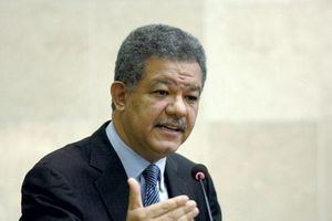 Leonel Fernández, expresidente de la República.