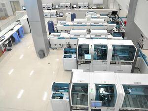 Otra de las áreas de procesamiento de las pruebas de Referencia Laboratorio Clínico.